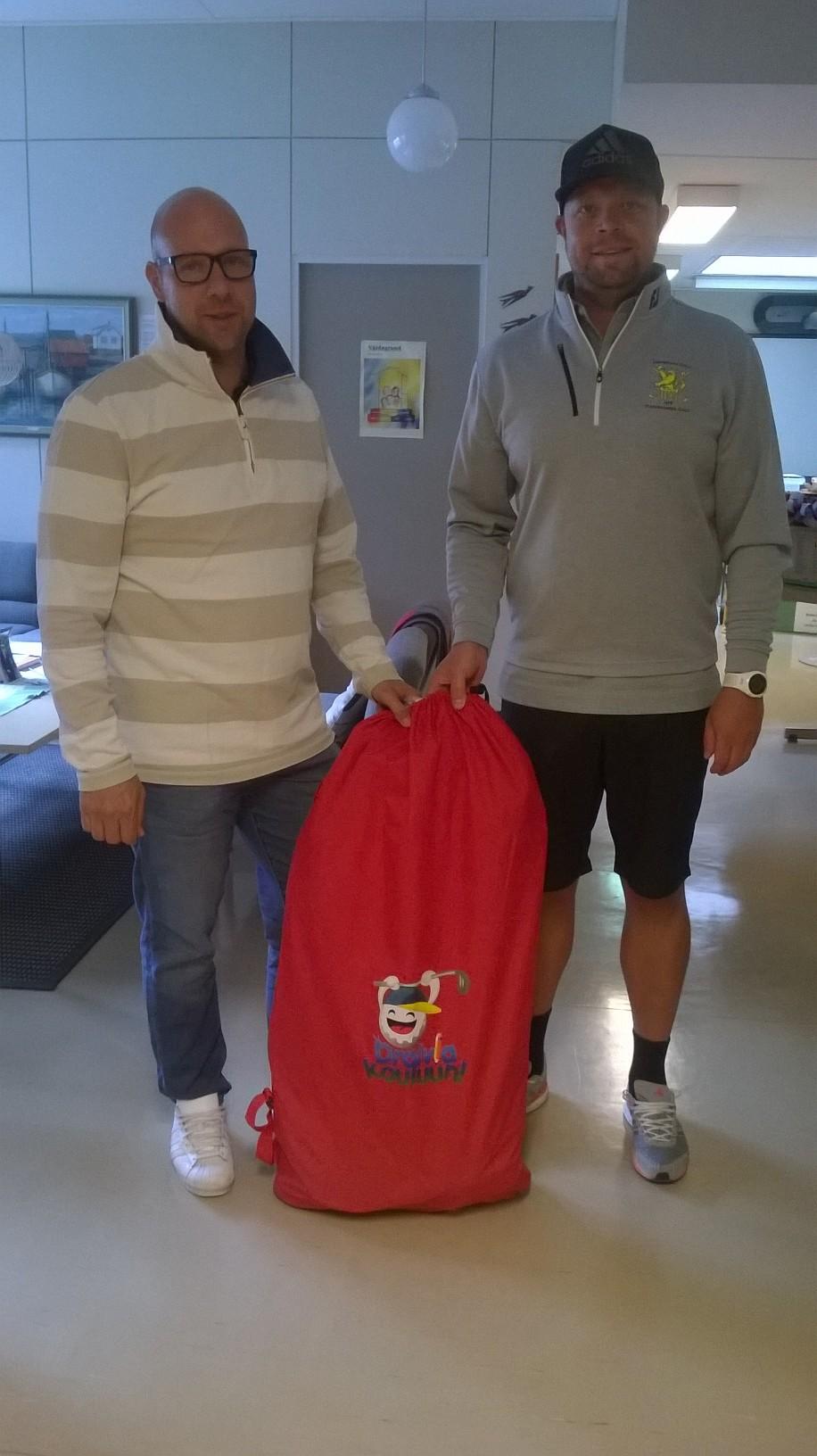Pietarsaaren Golf ja Draivia kouluun 14.8.2018
