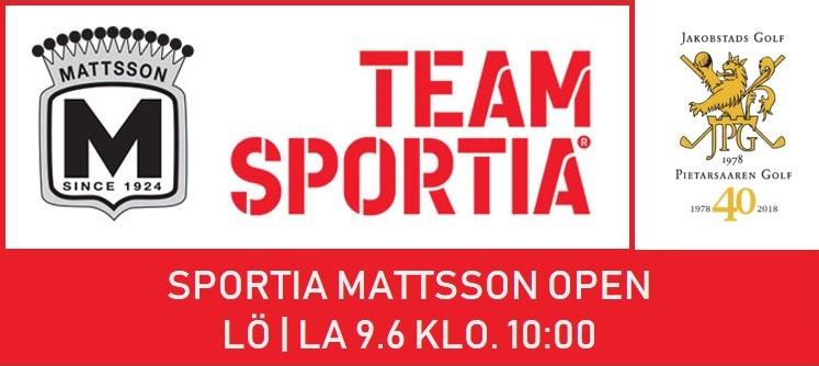 Sportia Mattsson Open Lö 9.6.2018 Kl 10.00