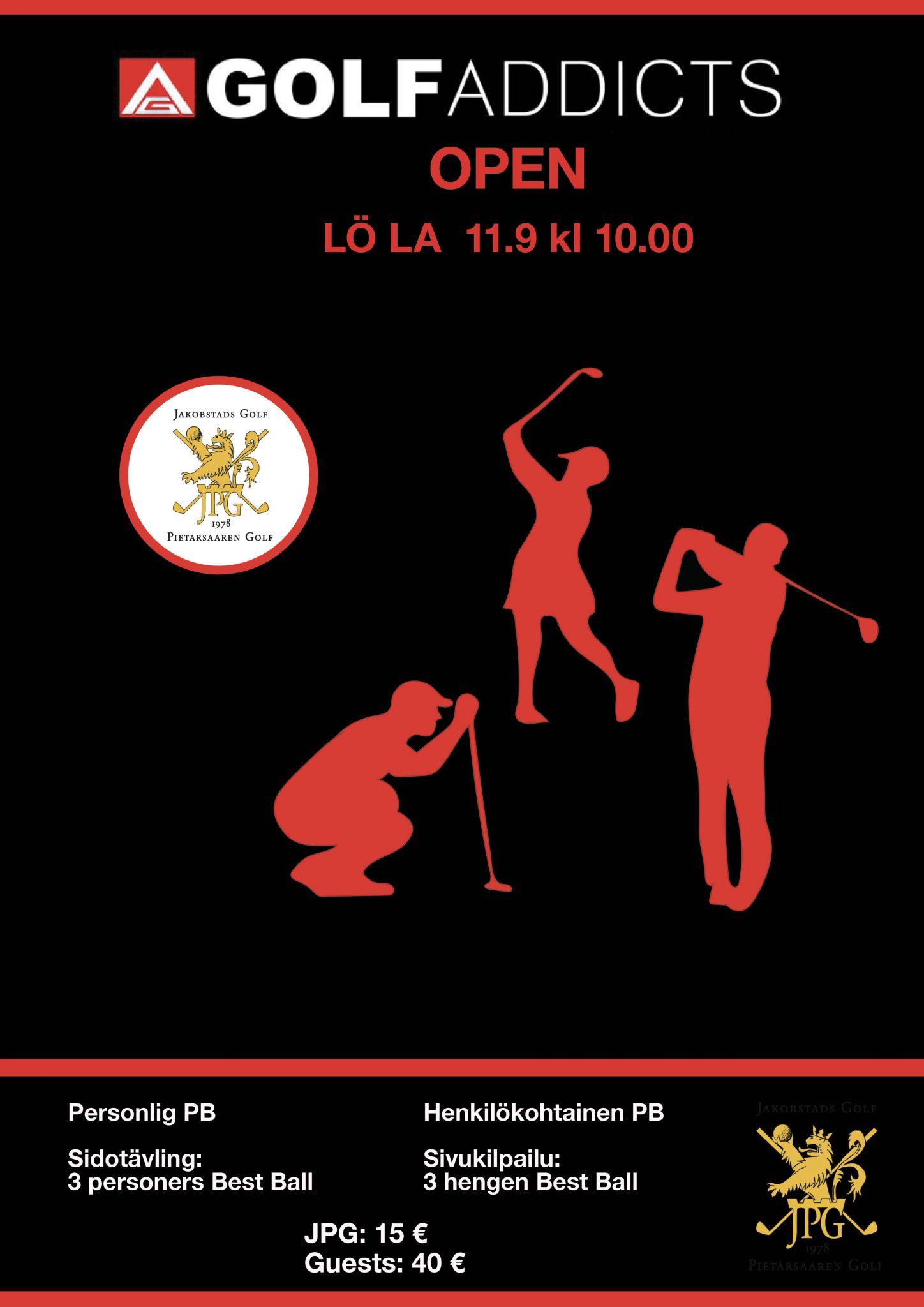 Golf Addicts Open