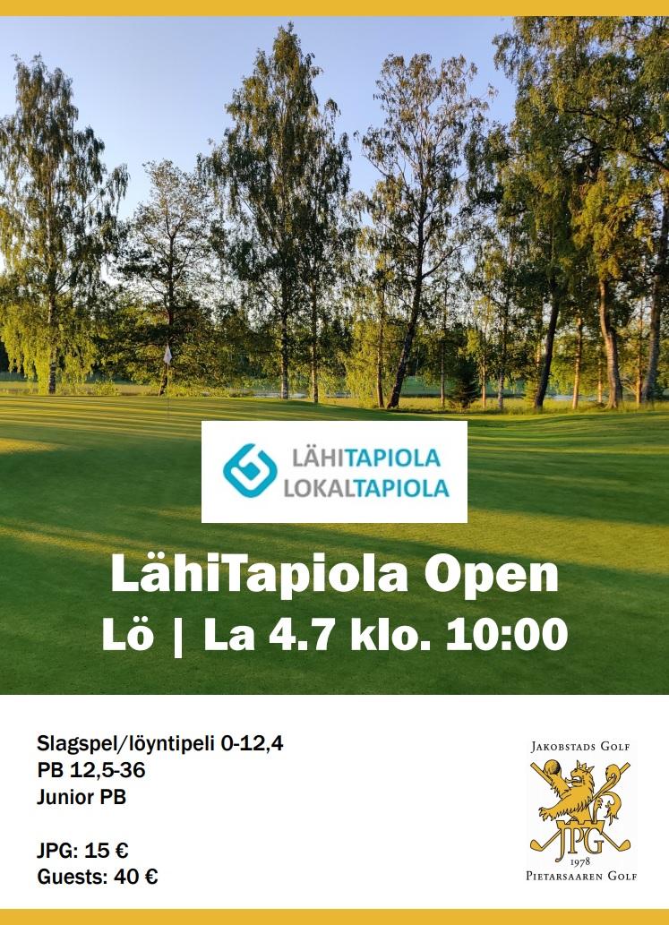 LähiTapiola Open – Sö 5.7