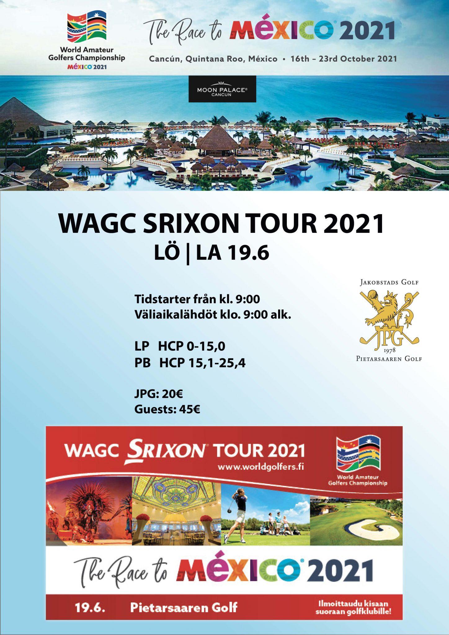 WAGC SRIXON TOUR 2021