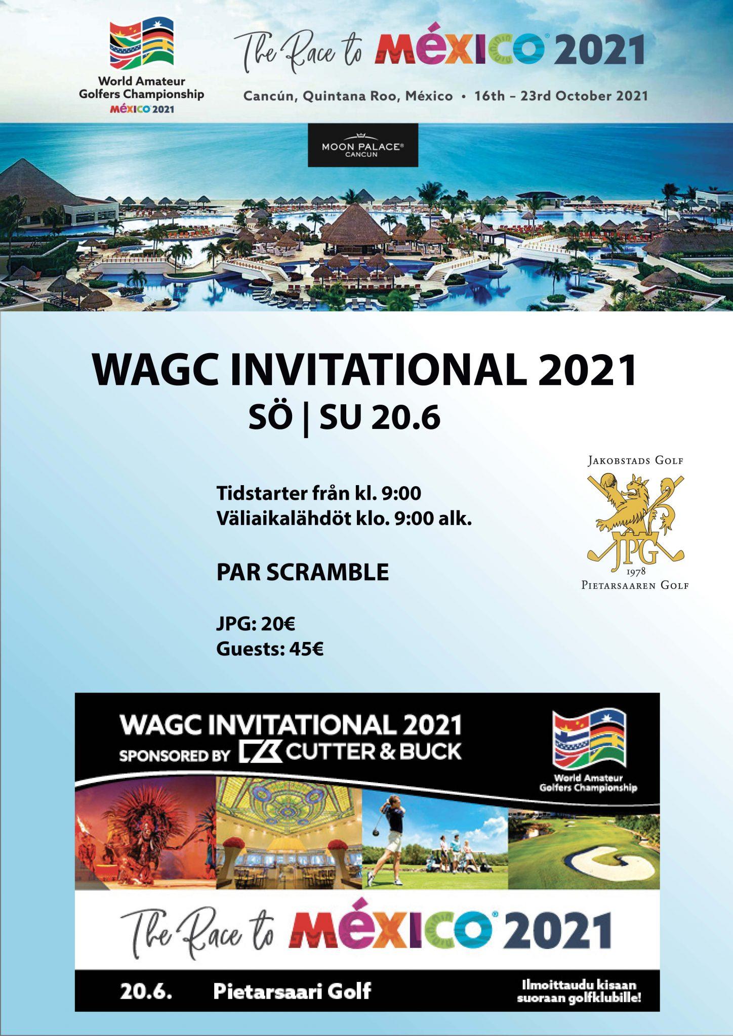 WAGC INVITATIONAL 2021 – SCRAMBLE