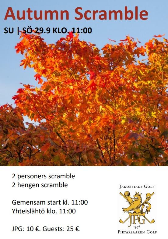 Autumn Scramble
