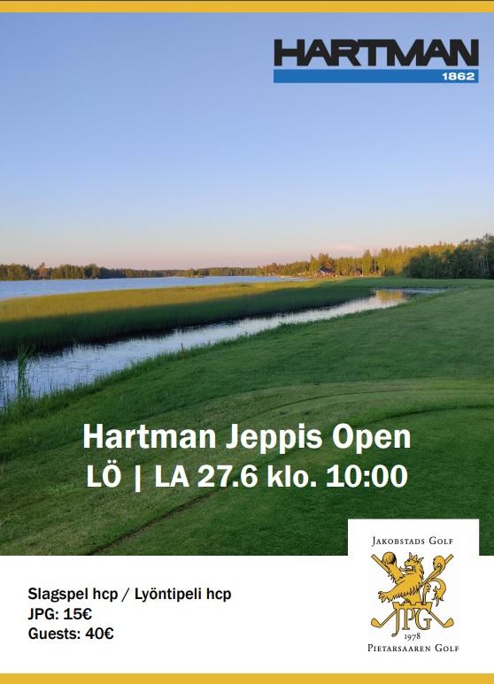 Hartman Jeppis Open