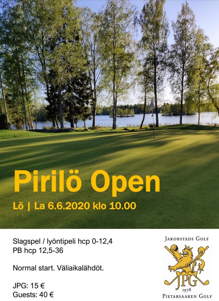 Pirilö Open