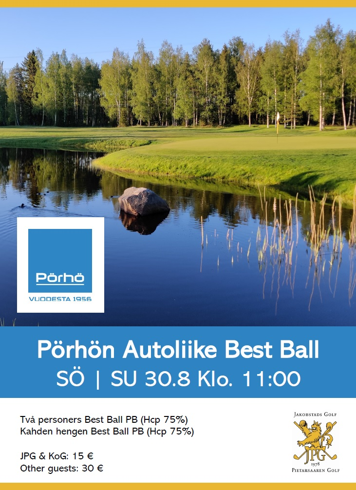 Pörhön Autoliike – Best Ball