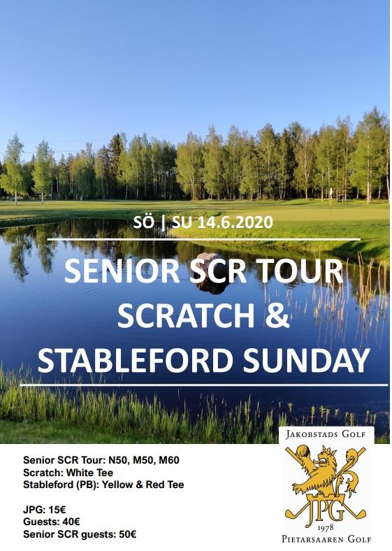 Senior SCR Tour – Scratch & Stableford Sunday